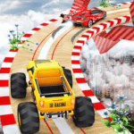 City Hill Stunt 3D: Crazy Car Racing Climb Jumping