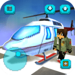 Helicopter Craft: Flying & Crafting Game 2020