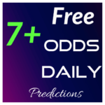 7+ Odds Daily Prediction
