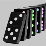Domino Color 3D – 2 Player Games