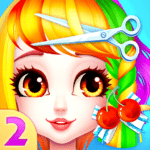 Fashion Hair Salon Games: Royal Hairstyle