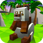 Blocky Panda Simulator – be a bamboo bear!