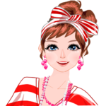 Fashion Girl – Dress up – Happy new year