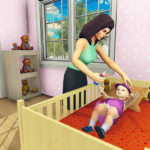 Real Mother Simulator 3D – Baby Care Games 2020