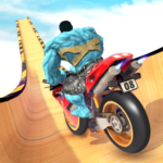 Super Hero Bike Mega Ramp – Stunt Racing Simulator