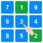 Touch Numbers in Order: Number Game