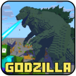 New Monsters – Godzilla King Mod For Craft Game