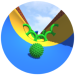 Rolling Ball :  Balance the ball, Avoid Obstacles